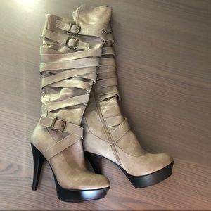 Knee-high Boot Heels